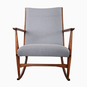 Mid-Century Danish Rocking Chair by Holger Georg Jensen, 1958