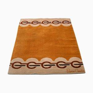 Tapis en Laine par Pierre Cardin pour Scandinavian Folklore Carpets, 1960s