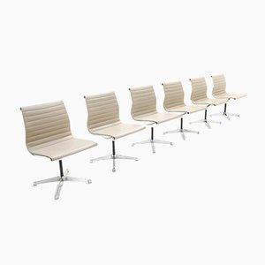 EA105 Esszimmerstühle von Charles & Ray Eames für Herman Miller, 6er Set
