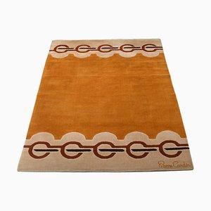 Großer Wollteppich von Pierre Cardin für Scandinavian Folklore Carpets, 1960er
