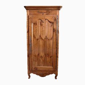 Louis XV Style Regional Birch Cabinet, 19th Century