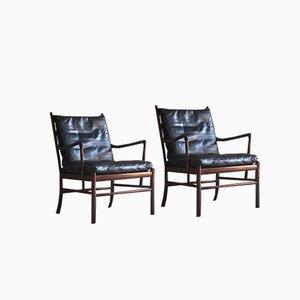Dänische Palisander 149 Stühle von Ole Wanscher für Poul Jeppesens Møbelfabrik, 1950er, 2er Set