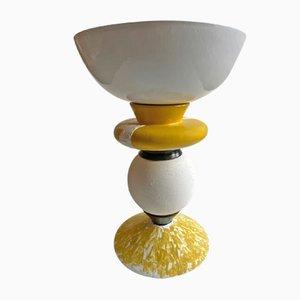 Gelbe Vase von Mascia Meccani für Meccani Design, 2019