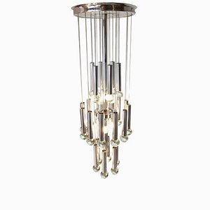 Mid-Century 7-Light Ceiling Lamp by Gaetano Sciolari