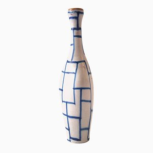 Italian Glazed Ceramic Bottle by Guido Gambone, 1960s