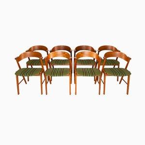 Chaises de Salon en Teck de Korup Stolefabrik, Danemark, 1960s, Set de 8