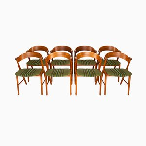 Danish Teak Dining Chairs from Korup Stolefabrik, 1960s, Set of 8