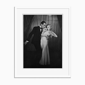 Archivierter Astaire und Luce Archivdruck in Weiß