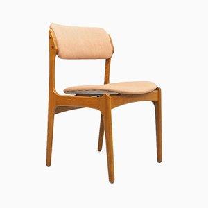 Teak 49 Dining Chair by Erik Buch for Odense Maskinsnedkeri / O.D. Møbler, 1960s