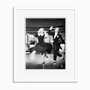 Swing Time! Archival Pigment Print Framed in White by Everett Collection
