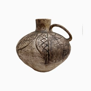 Vintage Swiss Ceramic Vase from Gustav Spörri, 1963