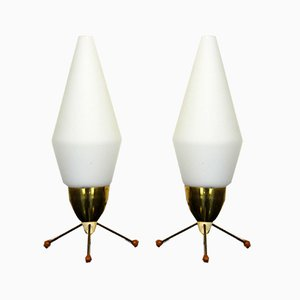 Rocket Table Lamps, 1970s, Set of 2