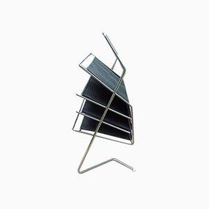 Mid-Century Bauhaus Style Magazine Rack