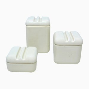 Ceramic Boxes by Pino Spagnolo for Sicart, 1960s, Set of 3