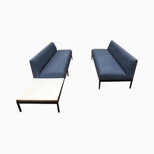Zweiteiliges Modulares Sofa von Kho Liang Ie für Artifort, 1964, 2er Set