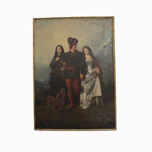 Cassioli Amos, La Rivale Painting