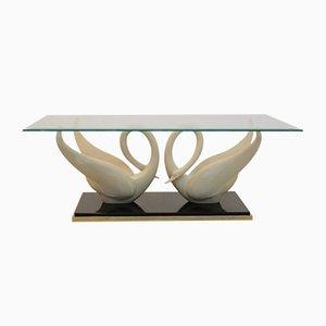 Table Basse Cygne de Maison Jansen, 1970s