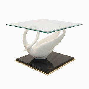 Vintage Swan Side Table from Maison Jansen, 1970s