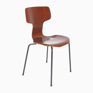 Fauteuil Scandinave Moderne 3103 par Arne Jacobsen pour Fritz Hansen, 1960s