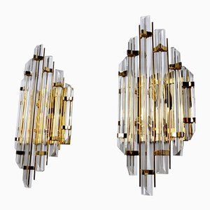 Sconces by Paolo Venini for Venini, 1970s, Set of 2