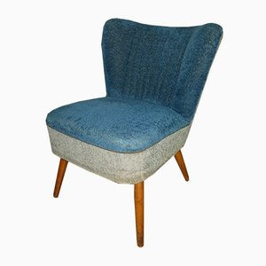 Blue & Gray Cocktail Chair, 1950s