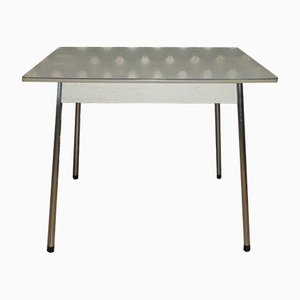 Mid-Century Formica & Chrome Dining Table, 1950s
