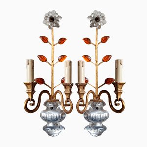 Parisian Sconces by Maison Baguès, 1958, Set of 2