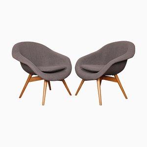 Lounge Chairs by Miroslav Navratil for Vertex, 1960s, Set of 2