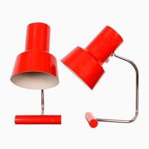 Tischlampen von Josef Hurka für Napako, 1970er, 2er Set