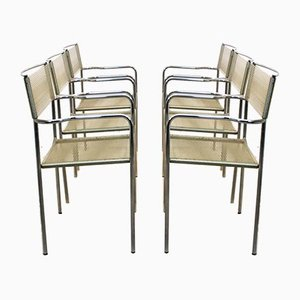 Spaghetti Chairs by Giandomenico Belotti for Alias, 1970s, Set of 6