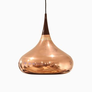 Copper Orient Hanging Lamp by Jo Hammerborg for Fog & Morup