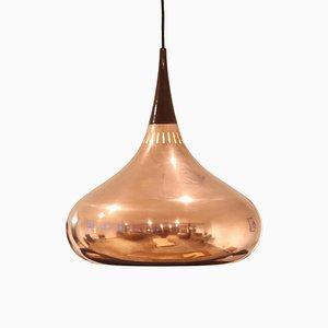 Kupfer Orient Hängelampe von Jo Hammerborg für Fog & Morup