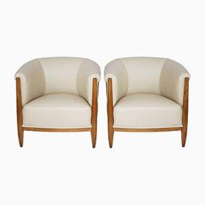 Art Deco Tub Chairs, Set of 2