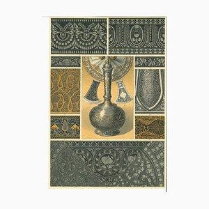 Unknown - Decorative Motifs - Original Chromolithograph - Early 20th Century
