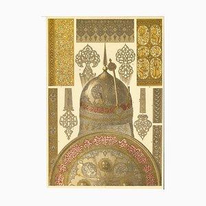 Unbekannt - Dekorative Motive der Persischen Renaissance - Farblithografie - Frühes 20. Jahrhundert