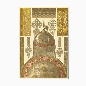 Unknown - Decorative Motifs of Persian Renaissance - Chromolithograph - Early 20th Century