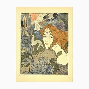 Georges De Feure - Return - Lithograph - 1897