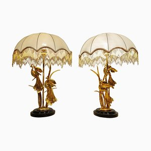 Vintage Table Lamps by L. Galeotti, 1970s, Set of 2