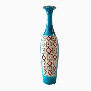 Botella de cerámica de Guido Gambone, años 60
