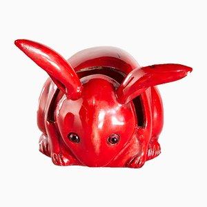 Ceramic Rabbit by Bernard Moore