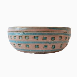 Earthenware Bowl by Guido Gambone, 1960s