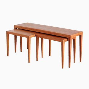 Tables Gigognes par Severin Hansen, Set de 3