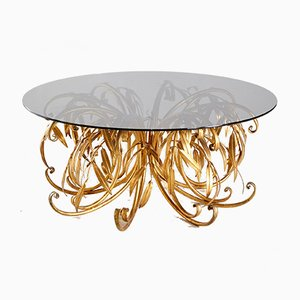 Brass Coffee Table by Hans Kögl, 1960s