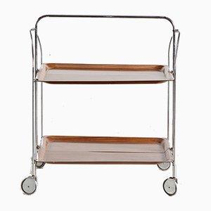 Brown Tea Trolley
