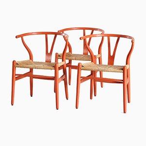 Chaise Wishbone par Hans J. Wegner