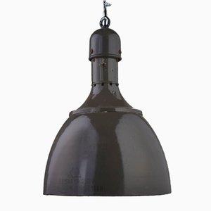 Kleine Industrie Lampe aus Metall