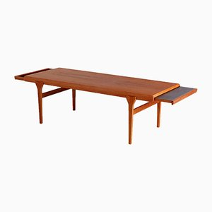 Long Teak Coffee Table by Johannes Andersen