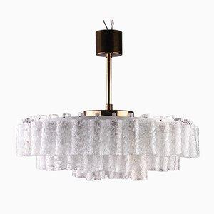 Glass Pendant Lamp from Doria