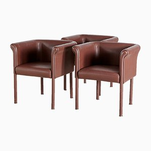 Leather Armchair by Antonio Citterio
