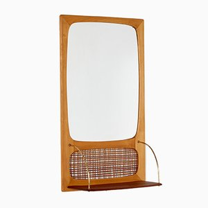 Mirror with Cane Details